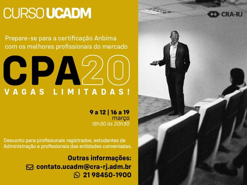 Certificação Profissional Anbima - CPA20 Turma 02